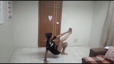 Técnica de handebol Mônica Neves passa exercícios para se fazer em casa - Confira as dicas da professora de Educação Física.