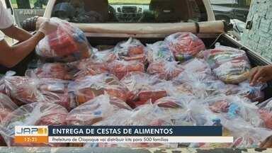 Prefeitura de Oiapoque vai distribuir cestas básicas para 500 famílias - Prefeitura de Oiapoque vai distribuir cestas básicas para 500 famílias