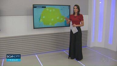 Veja a previsão do tempo para os próximos dias - Dados são da Somar Meteorologia.