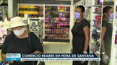 Estabelecimentos em Feira de Santana podem funcionar com horário reduzido - Medida é válida para lojas com com até 200 metros quadrados.
