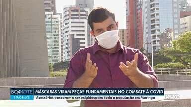 Máscaras viram peças fundamentais no combate à Covid - Acessórios evitam que vírus se espalhe.