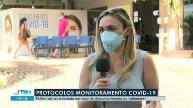 Semsa vai acionar polícia para que pacientes com suspeita de Covid-19 cumpram isolamento - Mais de 300 monitorados em Santarém não estão dando retorno sobre o isolamento às equipes de saúde.