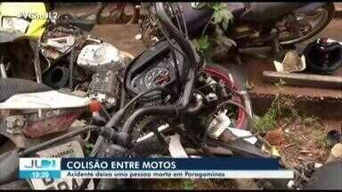 Acidente entre motos deixa uma pessoa morta em Paragominas, no Pará - Acidente entre motos deixa uma pessoa morta em Paragominas, no Pará