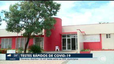 Governo distribui 16 mil testes entre os 22 municípios do Piauí - Governo distribui 16 mil testes entre os 22 municípios do Piauí