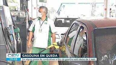 Litro da gasolina é vendido a menos de 4 reais em Fortaleza - Confira mais notícias em g1.globo.com/ce