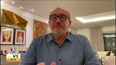 Deputado César Pires lamenta a morte do jornalista Roberto Ferandes - Deputado estadual César Pires, também do partido Verde, disse que a morte de Roberto é uma perda irreparável.