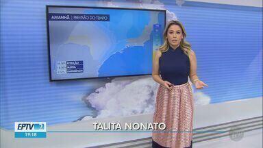 Confira a previsão do tempo para a quinta-feira na região - Tempo seco deve continuar