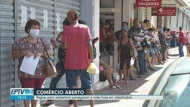 Regras para reabertura do comércio começam a valer em Jaboticabal, SP - Medida contraria decreto estadual, que estabelece fechamento até 10 de maio.