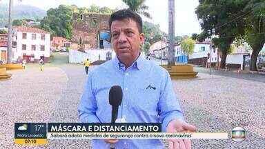 Sabará fecha o cerco contra o coronavírus - Prefeito explica as mudanças na cidade.