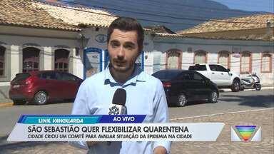 São Sebastião cria comitê para avaliar flexibilização da quarentena - Prefeitura dividiu comércios em grupos e criou regras para atendimento
