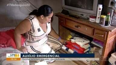 Famílias que não podem trabalhar dizem que auxílio emergencial do governo não é suficiente - Famílias que não podem trabalhar dizem que auxílio emergencial do governo não é suficiente