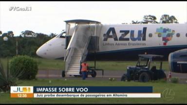 Juiz proíbe desembarque de passageiros em Altamira - Juiz proíbe desembarque de passageiros em Altamira
