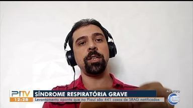 Levantamento aponta crescimento de casos de síndromes respiratórias graves no Piauí - Levantamento aponta crescimento de casos de síndromes respiratórias graves no Piauí