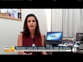 Imbé de Minas confirma primeiro caso de Covid-19 em profissional da saúde - Segundo a Secretaria Municipal de Saúde, trata-se de uma mulher de 27 anos que esteve no Estado do RJ.