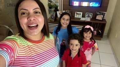 Laninha Show e outros pais e mães cearenses dão dicas para a rotina com os filhos em casa - Veja como está a quarentena com a garotada em casa
