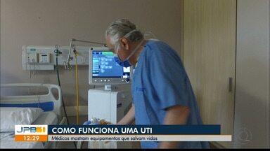 Como funciona uma UTI? - Médicos mostram equipamentos que salvam vidas.