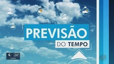 Confira a previsão do tempo para este domingo (26) na região de Ribeirão Preto - Temperaturas caem para até 13° C.