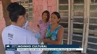 Eu acredito: Instituto Moinho Cultural e parceiros ajudam famílias de alunos - Eu acredito: Instituto Moinho Cultural e parceiros ajudam famílias de alunos