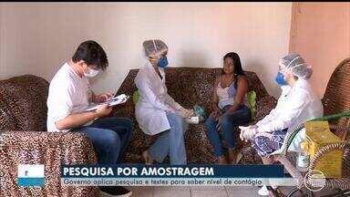 Pesquisa é realizada para mapear o coronavírus no Piauí - Pesquisa é realizada para mapear o coronavírus no Piauí