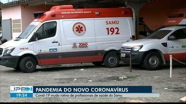 Covid-19 muda rotina de profissionais de saúde do Samu - Cuidados redobrados.