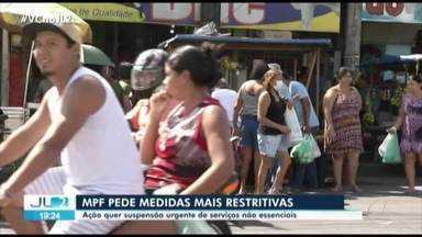 MPF pede à Justiça que sejam realizadas medidas de restrição mais duras no Pará - MPF pede à Justiça que sejam realizadas medidas de restrição mais duras no Pará