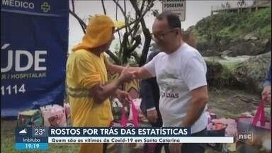 Veja quem são as vítimas do coronavírus em Santa Catarina - Veja quem são as vítimas do coronavírus em Santa Catarina