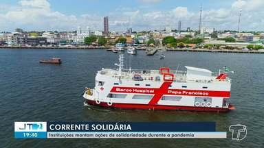 Solidariedade: instituições montam ações para praticar o bem durante a pandemia - Confira mais um episódio da série Solidariedade, no Jornal Tapajós.