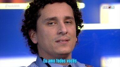 CAT BBB: Rafael Portugal faz música de retrospectiva do eliminados - undefined