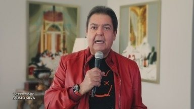 Programa de 26/04/2020 - Fausto Silva comanda o programa