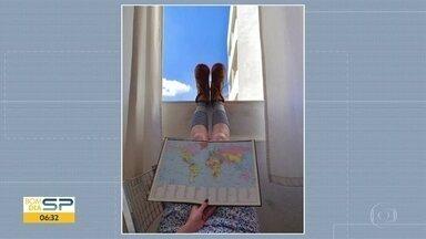 Expidação Globo da Janela - Tire sua foto e manda com a #expedicaoglobodajanela