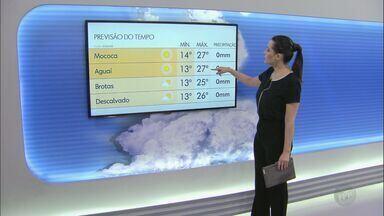 Veja como fica o tempo nesta terça-feira na região - As temperaturas devem cair a noite e a sensação térmica pode ser menor por causa do vento.