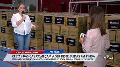 Cestas básicas começam ser distribuídas em Pindamonhangaba - Confira reportagem do Jornal Vanguarda desta terça-feira (28).