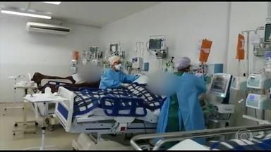 Estado de São Paulo tem mais de duas mil mortes por coronavírus - Em 24 horas foram registradas 224 mortes em São Paulo. No estado, a taxa de ocupação das UTIs está em 61%; na Grande São Paulo, 81%.