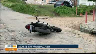 João Pessoa registra dois assassinatos na manhã desta quarta-feira - Ex-presidiário é morto no bairro Mandacaru, na capital.