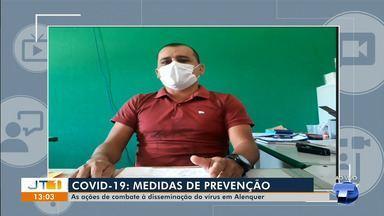 Secretário municipal de saúde de Alenquer explica ações preventivas ao Covid-19 - No município, tem dois casos confirmados, nove descartados, 29 notificados e 51 monitorados.