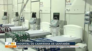Entenda como funciona o fluxo de pacientes no Hospital de Campanha de Santarém - Unidade hospitalar continua recebendo pacientes com a Covid-19.