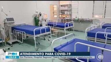 Hospital Tibério unes passa por reestruturação para atendimentos de COVID-19 - Hospital Tibério unes passa por reestruturação para atendimentos de COVID-19