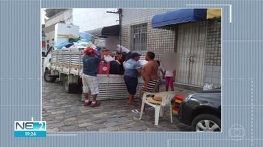 Venezuelanos que viviam nas ruas são levados para abrigos para se protegerem da Covid-19 - Imigrantes estão recebendo assistência da Cáritas Brasileira.