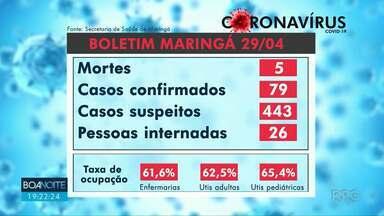 Paraná tem 77 novos casos de coronavírus e cinco mortes - No total, o estado tem 82 mortes pela doença.