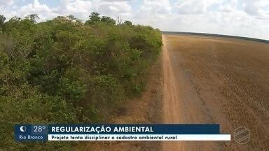 Ambientalistas criticam projeto do governo do Estado que tenta disciplinar Cadastro Ambien - Ambientalistas criticam projeto do governo do Estado que tenta disciplinar Cadastro Ambiental Rural.