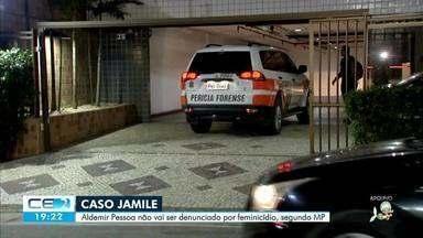 Ministério Público decide não indiciar Aldemir Pessoa Junior por feminicídio - Confira mais notícias em g1.globo.com/ce