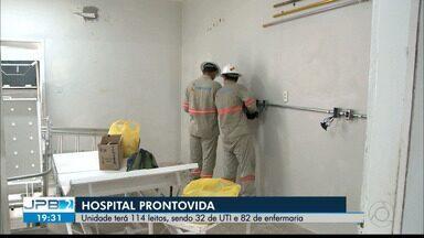 JPB2JP: Dois hospitais estão sendo reformados para receber pacientes com a Covid-19 - Um pelo Estado e o outro pela Prefeitura de João Pessoa.