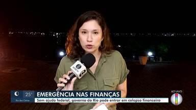 Sem ajuda federal, servidores do Rio podem ficar sem receber salário a partir de agosto - Pandemia do novo coronavírus causou a queda da arrecadação do ICMS e a queda do preço do barril do petróleo, reduzindo a receita oriunda dos royalties da produção petrolífera.