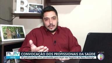 Prefeitura de Nova Friburgo, RJ, irá contratar profissionais da área de saúde - Governo municipal convocou 50 profissionais que participaram de processo seletivo simplificado. Contratos serão temporários.