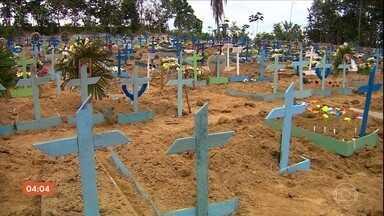 Brasil passa de 100 mil casos confirmados de Covid-19 - A doença já causou a morte de mais de sete mil pessoas.