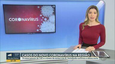 Região de São Carlos registra 27 mortes causadas pela Covid-19 - Número de casos confirmados nas cidades é de 306 até a manhã desta segunda-feira (4).