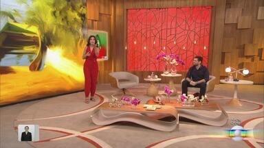 Programa de 04/05/2020 - Fátima Bernardes conversa com o ator Sérgio Guizé e o cantor Daniel sobre a rotina durante a quarentena