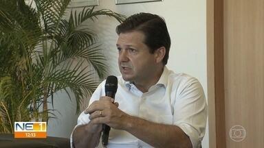 'Isolamento deve ser ampliado', diz prefeito do Recife, que não descarta 'lockdown' - Geraldo Julio afirma que novas medidas restritivas devem ser anunciadas.