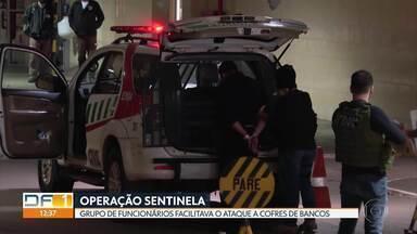 Operação prende funcionários de banco no DF suspeitos de facilitar roubos em agências - Polícia Civil aponta que grupo desligava alarme de segurança dos cofres. Em cinco meses, esquema causou prejuízo de R$ 2,6 milhões.