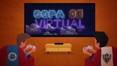 Copa GE Virtual: competição de videogame põe Atlético-MG e Cruzeiro frente a frente - Copa GE Virtual: competição de videogame põe Atlético-MG e Cruzeiro frente a frente